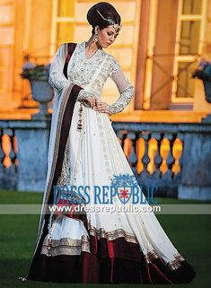 Bridal Dresses Collection 2014 by Khusboos by Chand Birmingham, UK  Designer Anarkali Suits Bridal wear from Khusboo's by Chand Birmingham, UK. Buy Online in Affordable Prices and Original Quality from Dressrepublic.com by www.dressrepublic.com