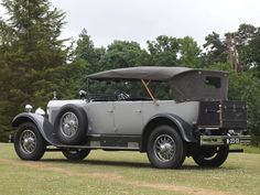1925 Mercedes 15/70/100 HP Tourer #mbhess #mbclassic