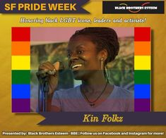 Highlighting Black LGBTQ icons, leaders, and activists for SF Pride Week! Pride Week, Under The Rainbow, Stanford University, Holistic Wellness, Activists, What You See, Social Justice, Spectrum, Lgbt
