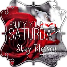 Enjoy Your Saturday Stay Blessed good morning saturday saturday quotes good morning quotes happy saturday saturday quote happy saturday quotes quotes for saturday good morning saturday beautiful saturday quotes saturday quotes for family and friends Good Morning Spiritual Quotes, Good Morning God Quotes, Morning Inspirational Quotes, Good Morning Picture, Good Morning Good Night, Morning Pictures, Saturday Morning Greetings, Saturday Morning Quotes, Good Morning Happy Saturday