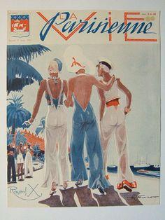 Henry Fournier. La Vie Parisienne, 8 Août 1931. [Pinned 9-viii-2015]