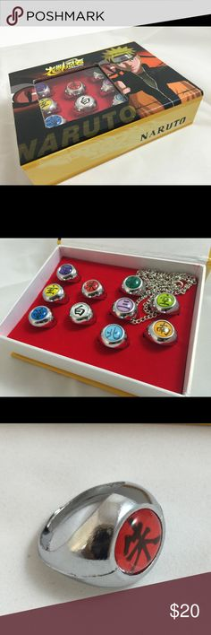 """Sailor Mercury Anime Character Jewelry Enamel Necklace Stainless steel 20/"""" USA"""