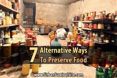 Most preppers can or dehydrate their food. While these are excellent food storage methods, there are many other great options to consider.