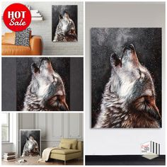 Simple Ideas for Decorating the Interior of your Home Home Decor Sale, Home Goods Decor, Home Decor Shops, Home Wall Decor, Room Decor, Wolf Artwork, Canvas Artwork, Artwork Prints, Canvas Prints