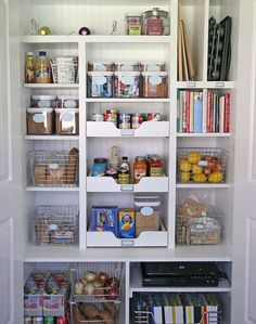 Install Rolling Shelves   Home Hack: Your Small Pantry Problems Solved! - Yahoo Shine