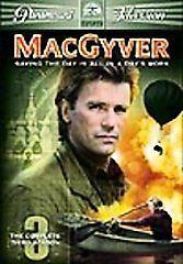 MacGyver - The Complete Third Season (DVD, 2005, 5-Disc Set), Good Shape!