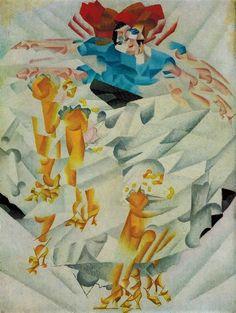 Print Gino Severini Dynamism of Dancer Woman Dancing Futurist Painting Artist | eBay