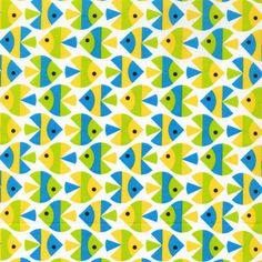 Fish van Cloud9 fabrics -Juffertje Uil