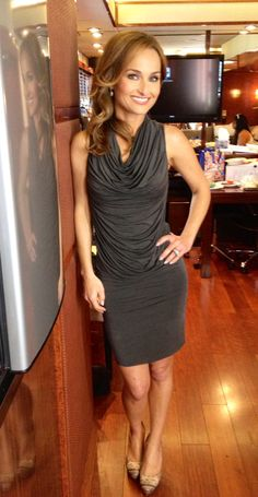 Dress: Helmut Lang Shoes: Sergio Rossi  Jewelry: David Yurman