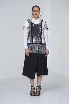 Beat Mafia Top, Swiss Dot Shirt, Tantrum Culotte