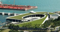 Green-Roofed Marina Barrage | Architects Team 3 Pte Ltd - Arch2O.com