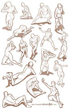 Sketch practice by rooster82.deviantart.com