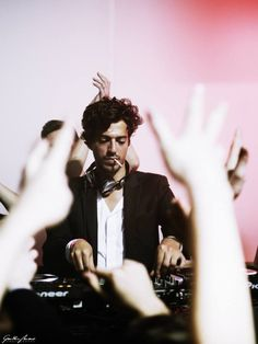 I was first introduced to house and techno music my sophomore year in college by a friend who grew up in Seoul, South Korea. He introduced me to this French DJ, known as Gesaffelstein, who I've seen several times in New York City. He's known for his incredible light theatrics during his live shows - while chainsmoking through his often hours-long sets. His shows have been some of my favorite memories during my time living in NYC.
