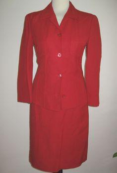 * * * CERRUTI 1881 Kostüm rot, Gr.36 * * * Peplum Dress, Ebay, Blazer, Jackets, Dresses, Women, Fashion, Clothing Accessories, Fashion Women