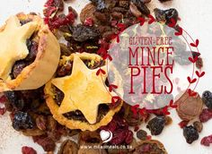 What would Christmas be without Mince Pies? Find a gluten-free, sugar-free, dairy-free, grain-free recipe in The Mila's Meals Online Advent Calendar. Gluten Free Mince Pies, Online Advent Calendar, Grain Free, Dairy Free, Christmas Recipes, Free Food, Sugar Free, December, Meals