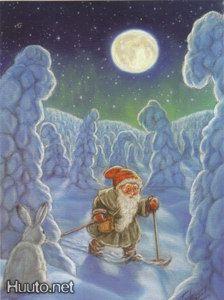 Terho Peltoniemi Troll, Finland, Scandinavian, Friends, Winter, Christmas, Painting, Art, Craft Art