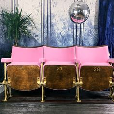 Unseen Icons - Home of the vintage cinema seat
