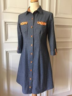 Åsa's Rosa Shirt Dress - sewing pattern by Tilly and the Buttons