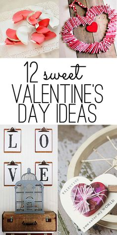 Valentines Day Ideas: 12 sweet and easy ways to show your love, I like the L-O-V-E with clipboards