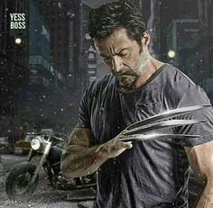 ArtStation - The Wolverine 3 (Photo manipulation), Talha Khan Hugh Wolverine, Wolverine Claws, Wolverine Art, Wolverine Poster, Marvel Comic Universe, Marvel Comics Art, Marvel Heroes, Comics Universe, Marvel Xmen