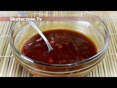 Marynata do mięsa na grilla (słodko-kwaśna) :: Skutecznie.Tv [HD] Chili, Grilling, Soup, Pudding, Cooking, Desserts, Youtube, Cuisine, Tailgate Desserts