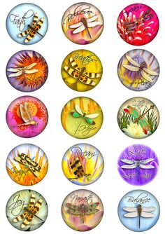 Bottle Cap Crafts, Bottle Caps, Cross Wallpaper, Dragonfly Wall Art, Christmas Crafts To Sell, Papel Scrapbook, Printable Art, Printables, Resin Crafts