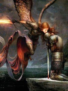 Dark Fantasy Art, Fantasy Artwork, Dark Art, Magic The Gathering, Mtg Art, Fantasy Warrior, Medieval Art, Fantasy Inspiration, Pics Art