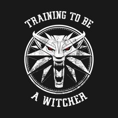 Training to be a Witcher - Geralt of Rivia The Witcher 3, The Witcher Books, Witcher Art, Witcher 3 Wild Hunt, Yennefer Witcher, Witcher Tattoo, Gamer Tattoos, Wolf Tattoo Design, Tee Design