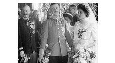 zita von habsburg   Im Bild: Kaiser Karl und seine Frau Zita bei der Hochzeit…