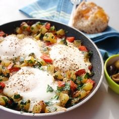 Don't limit this quick dish to weeknight; it makes a fabulous weekend brunch as well.
