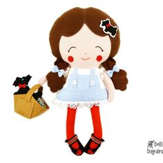 Dolls And Daydreams / Dorothy Sewing Pattern: Gift idea for the girls