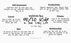 Pareto Principle: How to Battle Inequalities in Work and Life Alpha Male Traits, Personal Development Skills, Gallup Strengthsfinder, Pareto Principle, Rules And Laws, Rules Quotes, Life Hacks For School, Sketch Notes, Critical Thinking Skills