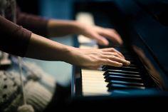 girl, hands, lovely, music, photography