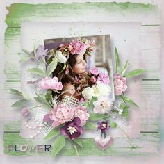 """""""A flower for you"""" by Pat's scrap, http://www.digiscrapbooking.ch/shop/index.php?main_page=index&manufacturers_id=152, http://scrapfromfrance.fr/shop/index.php?main_page=index&manufacturers_id=77 photo Evgenia Kozhevnikova use with permission"""