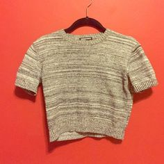 American Apparel Sweater Crop Top Super cozy sweater crop top American Apparel Tops Crop Tops
