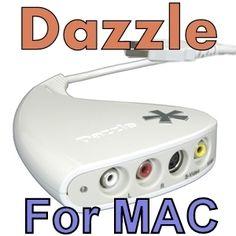 Pinnacle Dazzle DVC-100 for Mac USB Video Capture Card & VideoGlide license key