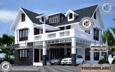 Indian Exterior Home Design 70+ Free Two Storey Terrace House Designs