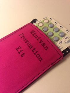 This terrifying reminder. | 32 Birth Control Cozies That Are So Cute It's Inconceivable