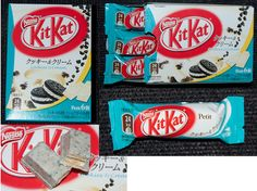 Cookies & Cream petit Kit Kat - Japan by kalvin1974, via Flickr