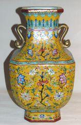 Vase «Blumen» Yongzheng nianzhi, Chin. 1723-1735 ƒƒ Vase, Decor, Home Decor, Decorative Jars