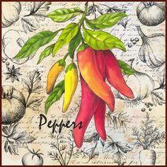 Market Fresh Peppers (Elena Vladykina)