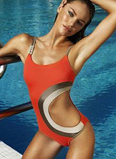 Bu Alana Reklam. Cute swimsuit