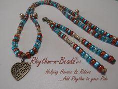 Rhythm-n-Beads® by Deborahlynn by RhythmnBeads Horse Necklace, Beaded Necklace, Necklaces, Horsehair, Happy Trails, Saddle Bags, Feathers, Tassels, Pendants
