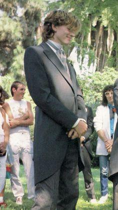 John Taylor at Andy Taylor's wedding
