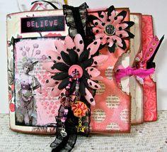 pink paper bag album