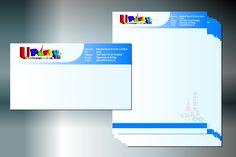 Design, Print. Hoja Membretada y Sobre Corporativo.