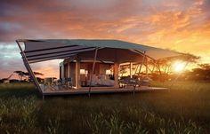 The 50 Hottest Luxury Hotel Openings of 2015 | ROVING BUSHTOPS CAMP, SERENGETI, TANZANIA