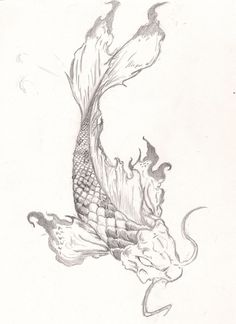 Koi Fish Tattoo by roninsamurai87.deviantart.com on @deviantART