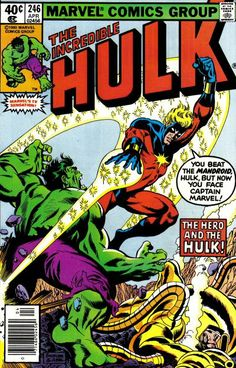 Incredible Hulk # 246 by Rich Buckler & Jack Abel