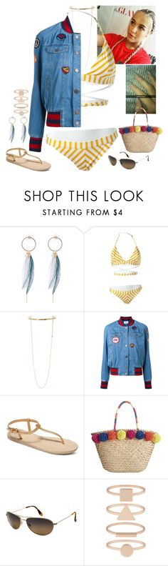 """""""Untitled #956"""" by fatyhnrqz94 ❤ liked on Polyvore featuring Tommy Hilfiger, STELLA McCARTNEY, Roxy, INC International Concepts, Maui Jim and Accessorize"""